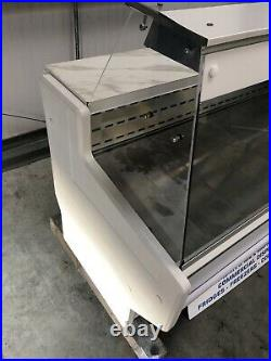1.5m Zoin Serve Over Counter Display Chiller Fridge Catering Commercial Kebab