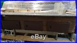 2.0m Serve Over Display Counter Meat Fridge Counter Top Model