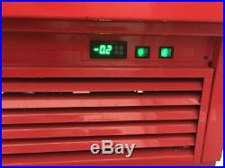 2m Serve over counter Chiller display fridge year 2016 stainless steel interior