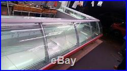 375cm serve over counter meat display chicken display butcher display remote
