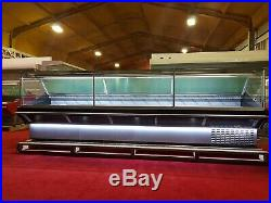 3.75 M Serve Over Counter Display Chiller Meat/fish Fridge Deli Maxi Sq Brand N