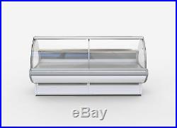 3m Lg Serve Over Display Counter Chiller Meat/fish Fridge Deli Counter