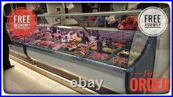 400cm Serve Over Counter Meat Display Fridge Butcher £3450+VAT OFELIA 4 meters