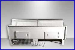 Basia 2.5m Commercial Serve Over Counter Meat Diary Display New Deli Fridge