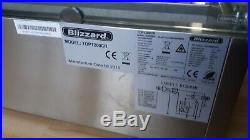 Blizzard counter top display fridge