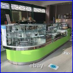 COF Commercial Serve Over Counter Display Fridge. Cafe deli meat cheese cakes