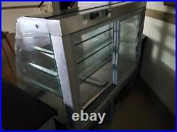 Cafe restaurant counter and cake display fridge ready made just need dismantling