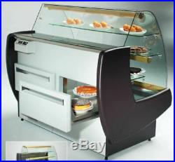 Cake Display Fridge Cabinet With Sliding Drawers Chilled Serve over Counter