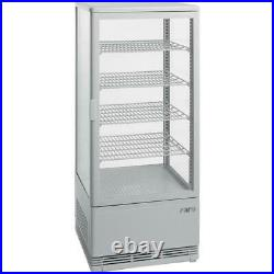 Circulating Chiller Cabinet Model Sc 100 White Refrigerated Display Counter Cold