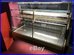 Comersa V Juno 1500 Bakery Patisserie Curved Glass Shop Display Fridge Counter