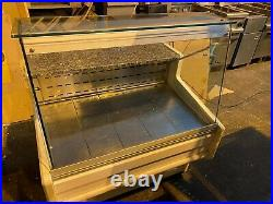 Commercial 1 Metre Serve Over Glass Display Fridge Counter