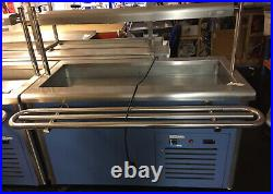Commercial Catering Appliance Refrigerated Salad Display Cooling Counter