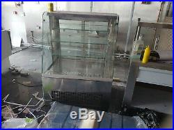 Commercial Chilled Display Fridge Glass Cake Counter