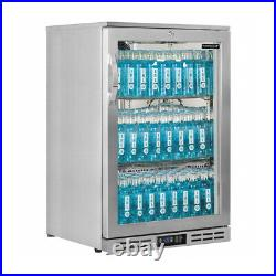 Commercial Glass Froster Under Counter Glass Display Interlevin GF10H-SS