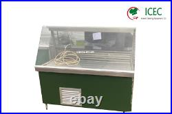 Commercial Serve Over Counter Deli Display Refrigerator / Cold Food Fresh Mea