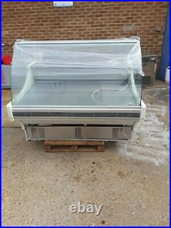 Commercial meat display fridge counter serveover grocery meat display unit 1.5m