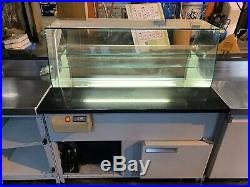 Complete Coffee Shop Counter With Under Counter Fridge And Display Fridge