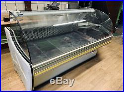 Corner Counter Display Fridge Commercial Chilled Counter Display
