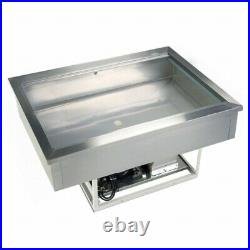 Cw4 Drop In Buffet Display Gastronorm Pizza Preperation Bar Counter Fridge