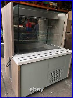 Decorative Cold Display Patisserie Display Case Cake Counter w147xd108xh179 cm
