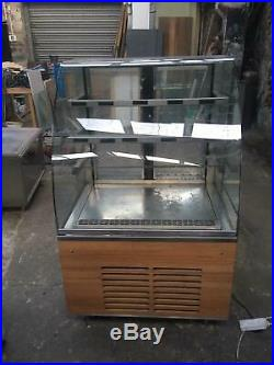 Delfield Refrigerated Self Serve Counter Combination Two Fridges + One display