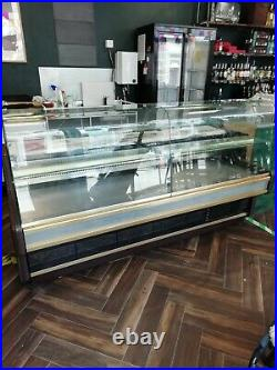 Deli Counter Fridge, lots of display space with handy marble counter