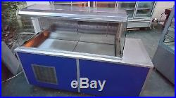 Deli Counter Serve Over Fridge Chiller Display Salad Bar Deli Display Fridge