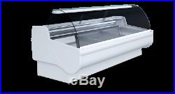 Deli Fridge Counter 2m Serve Over Counter Meat Fish Diary Display Brand New