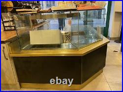 Display Counter With Food Prep Station Refrigerator Cafe/restaurant