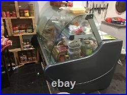 Display Round refrigerated counter 1,5m