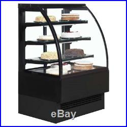 EVO 60 PATISSERIE CURVED DISPLAY FRIDGE COUNTER NEW@ £1463 +Vat +FREE DELIVERY