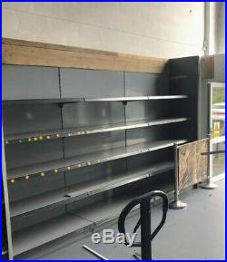 Ex shop display counters and Fridge and Freezers. Fully working Till area