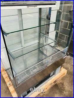 Frost Tech Open Front Glass Display Fridge Serve Over Patisserie Counter £750V