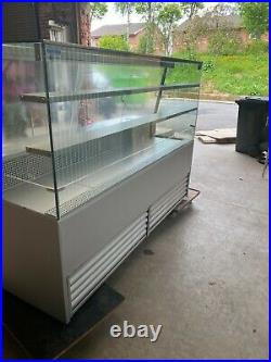 Frost-tech Eco-so75/200 Serve Over Counter Display Fridge, Less Than 2 Years Old