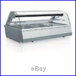 Gastronorm counter top display case cold2