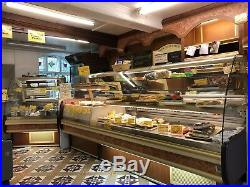 Heated And Chilled Shop Counter Full Display Units