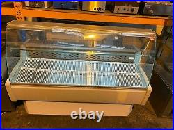 Igloo Commercial 1.7 metre Serve Over Curved Glass Display Fridge Counter VGC
