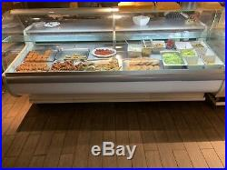 Igloo Tobi 2.5 Metre Refrigerated Serve Over Counter Display With Wheels
