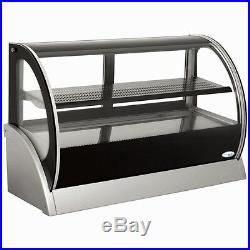 Interlevin Cold Range Counter Top Curved Glass Display S530A