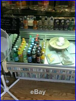 Large Refrigerated Glass Display Counter / Case / Unit for Retail / Coffee Shop
