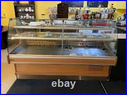 Large serve over counter display fridge used Very Good