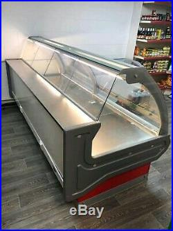 Meat counter serve over display counter /chilled