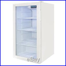 NEW Polar Under Counter Glass Display Fridge 825Hx430Wx480Dmm @Next Day Delivery