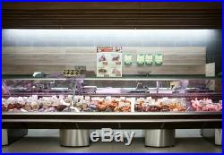 New Wood Effect Deli Counter Marble Work Top Meat Fridge Display Different Sizes