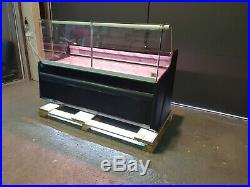Pico Deep Serve Over Counter Meat Fish Diary Display Square Glass Fridge 1.62m