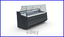 Pico Narrow Serve Over Counter Square Glass 1.62m Meat Display Brand New Fridge