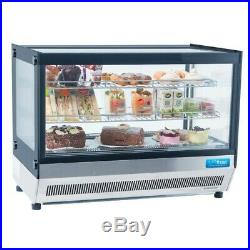 RDS900 Large Counter Top Display Chiller Cake Display Sandwich Showcase