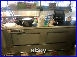 Refrigerated display/counter