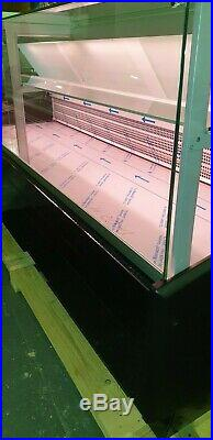 SERVE OVER COUNTER, FOOD DRINKS DISPLAY, MEAT FRIDGE BRAND NEW 2 m