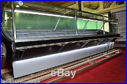 SERVE OVER DISPLAY 3.75m COUNTER CHILLER MEAT FISH FRIDGE DELI COUNTER